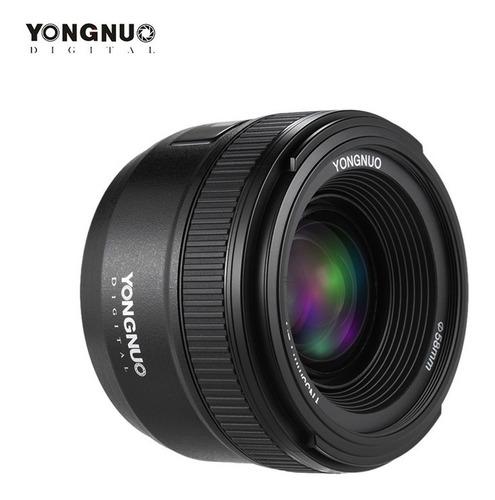Lente Yongnuo Yn35mm F/2.0 Cámara Nikon 35mm