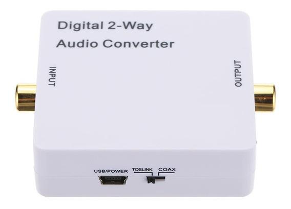 Spdif/ Switcher Divisor Do Amplificador De Sinal De Áudio Do