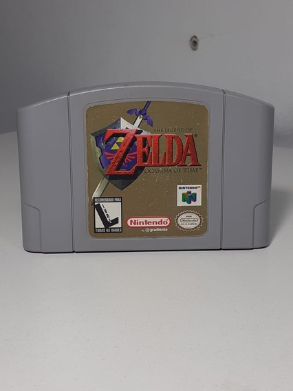 The Legend Of Zelda Ocarina Of Time Nintendo 64 - Original
