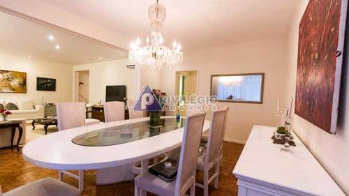 Imagem 1 de 16 de Apartamento À Venda, 3 Quartos, 1 Suíte, 1 Vaga, Copacabana - Rio De Janeiro/rj - 6683