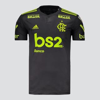 Camisa Flamengo 3 Uniforme 2019 Patrocínio Patch Original