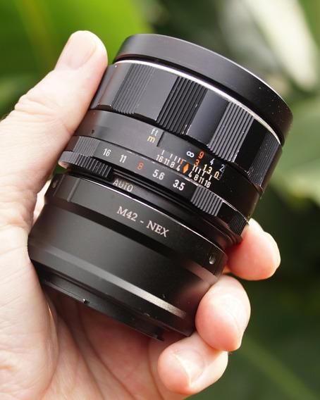 Lente Takumar Smc 24mm F3.5 (m42,sony,canon) C/adaptador