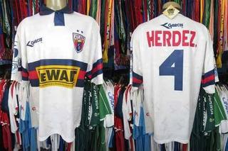 Atlante 1997 Camisa Reserva Tamanho Eg Número 4.