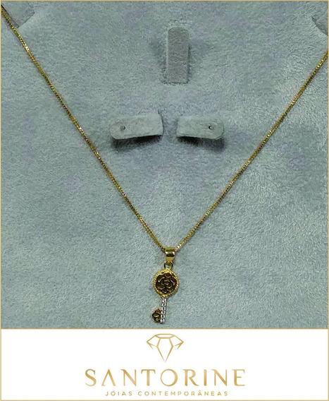 Semijoia - Corrente - Banhados Ouro - Unidade