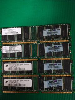 Memoria Ram 256mb Ddr-400mhz-cl3 4pzas