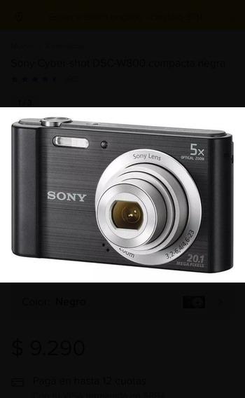 Cámara Digital Sony Cyber Shot Dsc- W800
