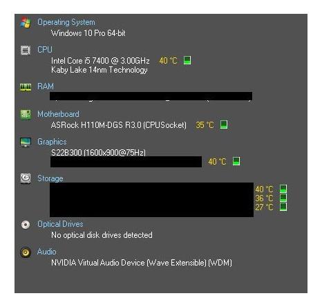 Kit H110m Dgs 3.0 + I5 7400 + Hd 1tb