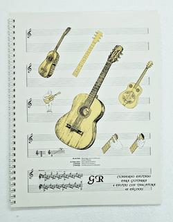 Cuaderno Pautado Para Guitarra 48 Paginas
