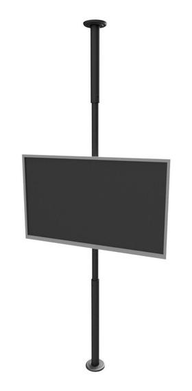 Suporte Tv 10 A 55 Teto Ao Chão - Preto