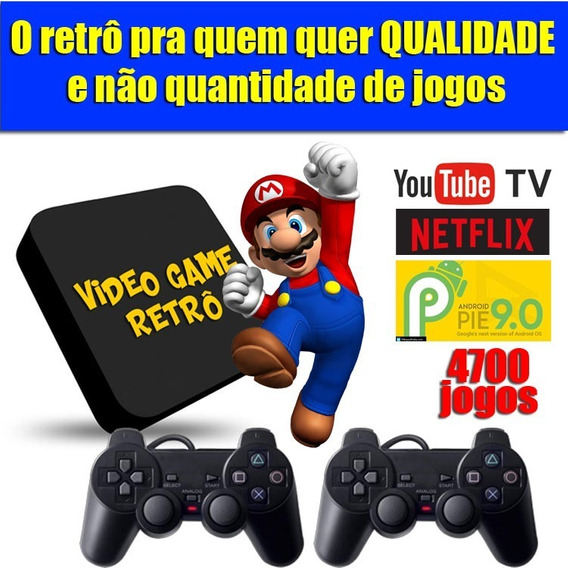 Video Game Retro 4700 Jogos Selecionados