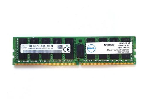 Imagem 1 de 1 de Memória 16gb Ddr4 2133mhz Ecc Rdimm Dell R430 R730 R630 T430