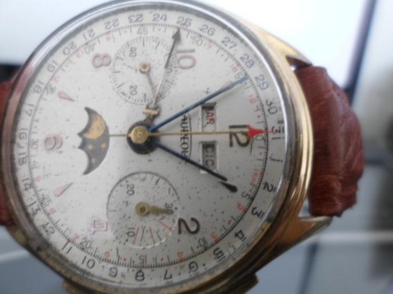 Reloj Aureole Landeron L-186 , Vintage Raro , Caballero