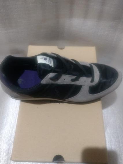 Zapatilla Lecoq Sportif Hombre Bolivar Nylon Black Violet