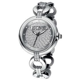 Relógio Feminino Analógico Just Cavalli Wj28735q - Prata