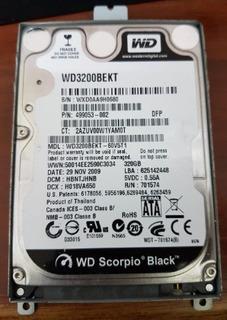 Disco Duro Para Laptop Wd De 320gb Operativo