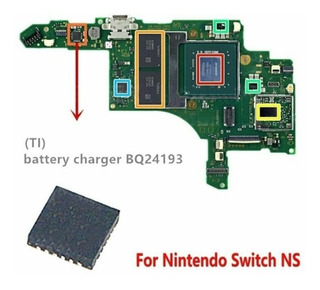 Chip Ic Bq24193 Nintendo Switch Bq24193rger Qfn-24