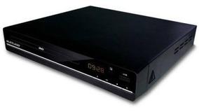Dvd Player Multilaser Sp252, 3 Em 1 - Bivolt