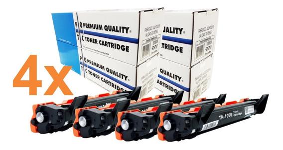 Kit 4 Toner Premium Tn1060 Compatível