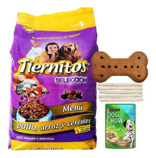 Comida Perro Adulto Tiernitos Pollo 25 Kg + Regalo + Envío