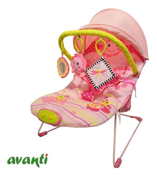 Silla Mecedora Para Bebe Vibracion Musica Juguetes Capota