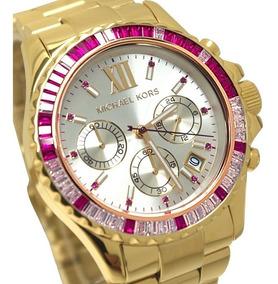 Relógio Te1623 Michael Kors Mk5871 Everest Pink / Caixa Mk