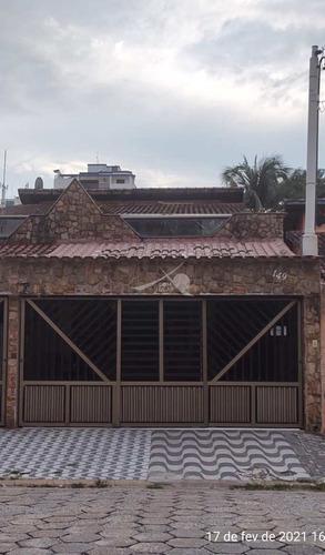 Imagem 1 de 28 de Casa Em Praia Grande, Guilhermina - V5118