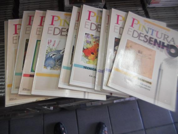 Coleção Técnicas De Pintura E Desenho 13 Volumes