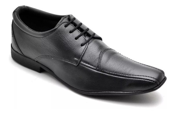 Sapato Social Esporte Fino Couro Tamanho Especial45,46,47,48