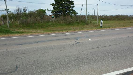 Terreno En Zona Urbana Sobre La Ruta 17 En El Mojón 292.