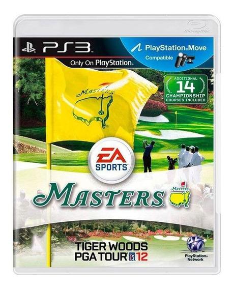 Tiger Woods Pga Tour 12 Ps3 Mídia Física Pronta Entrega