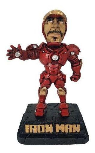 Homem De Ferro Vingadores Avengers Marvel Estatua Caricatura