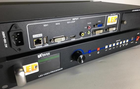 Vídeo Processador Ledpro Vp1000x Led Sync C/ Usb Pendrive