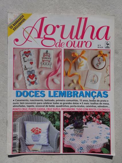 Revista Agulha De Ouro Nº 9 Lembranças - 25 Barrados - 1997