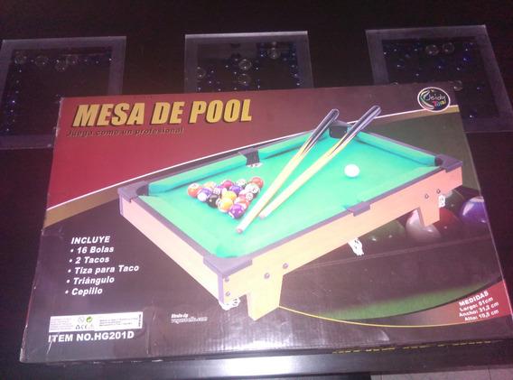 Mesita De Pool Y Billar