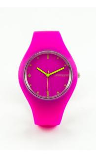 Reloj De Silicona Pineapple Sugar Fucsia