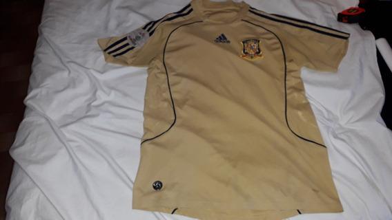 Camiseta Alternativa Selecc.españa Uefa Euro2008 Origi