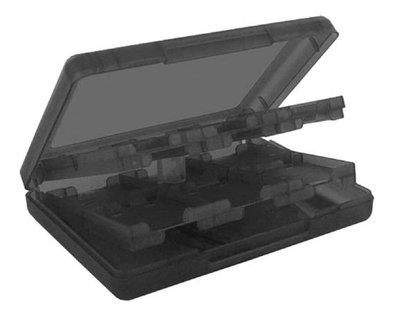 Estojo Case Porta 22 Cartuchos Para Jogos De Nintendo 3ds Ds
