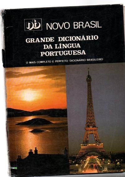 Novo Brasil Grande Dicionário Da Lingua Portuguesa 30ª 1986
