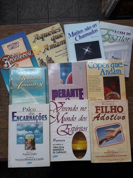 10 Livros De Romance Espírita Vera Lúcia Marinzeck