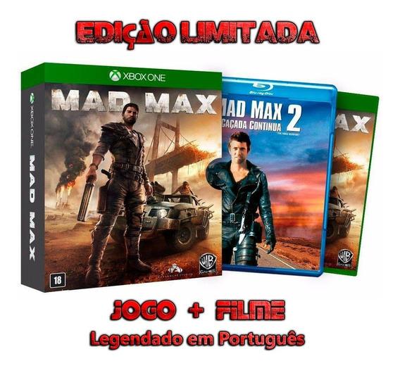 Mad Max Edição Limitada Xbox One Mídia Física Novo Lacrado