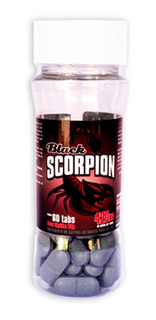 Scorpion Black 60 Tab- Emagreça Com Esse Potente Termogenico