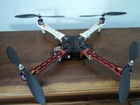 Drone Quadricóptero Multi-rotor Hk 450 Com Placa Kk 2.1