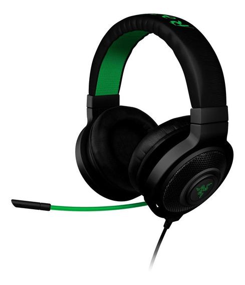 Fone de ouvido gamer Razer Kraken Pro preto
