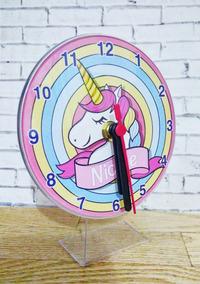 30 Relógios Unicórnio, Lembrancinhas Personalizado