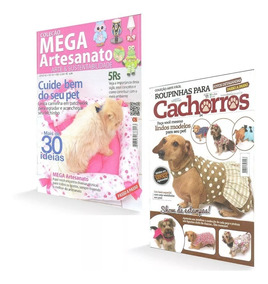 Revista Roupinhas Para Cachorros Moldes Passo A Passo Brinde
