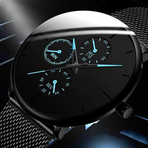 Relógio Masculino Casual Esportivo Luxo A Prova D
