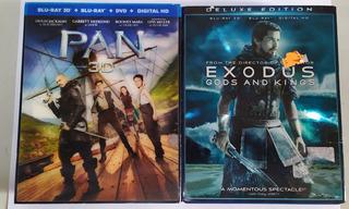 Blu Ray Oferta 3d Exodus Pan P Unitario