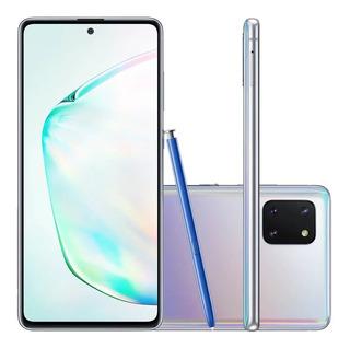 Celular Samsung Galaxy Note 10 Lite N770 Dual 128gb Prata