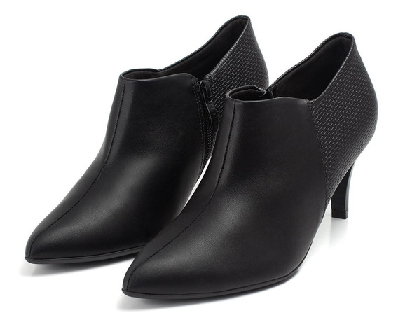Ankle Boot Piccadilly Salto Alto - Ref 745059