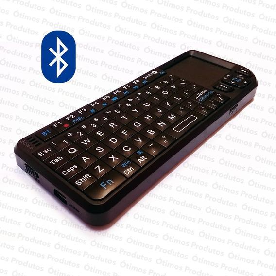 Mini Teclado Bluetooth Touchpad Smart Tv Pc Tablet Celular